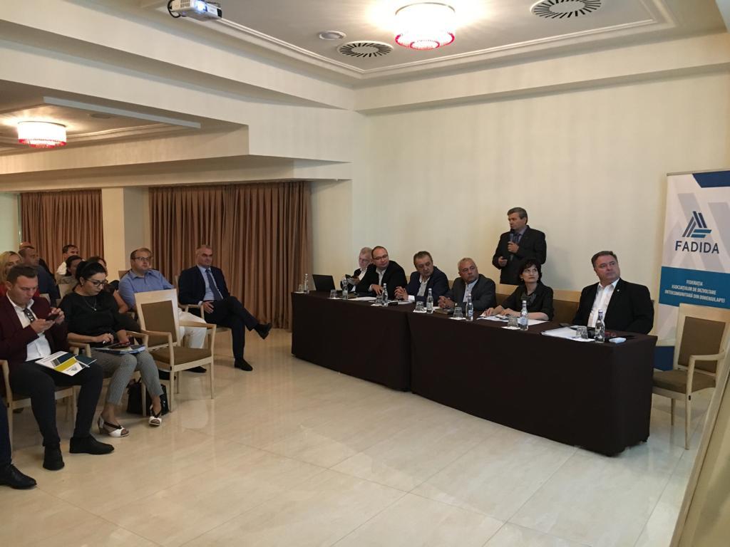Conferința Asociațiile de Dezvoltare Intercomunitară din domeniul apei