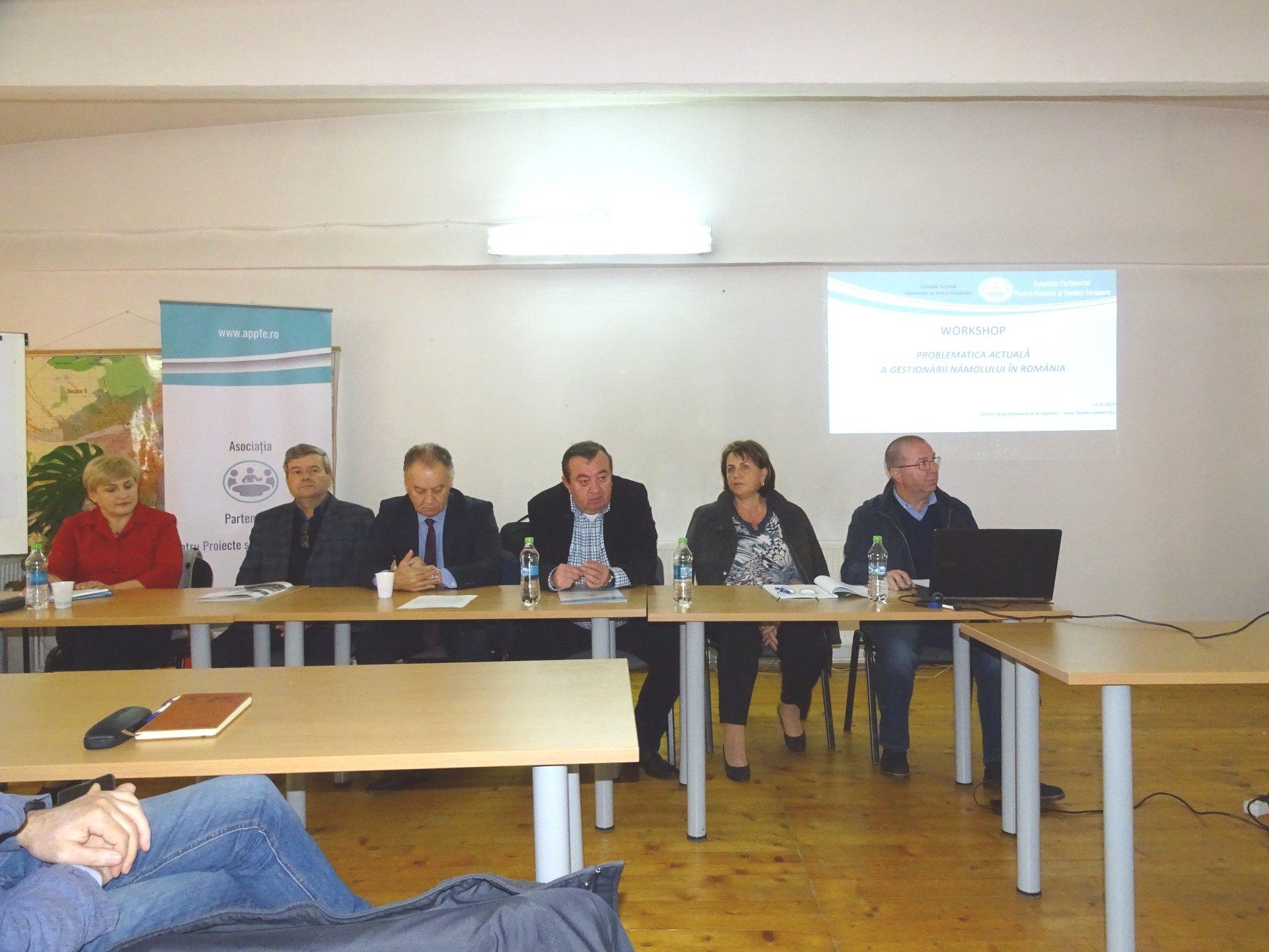 Problematica actuală a gestionării nămolului în România