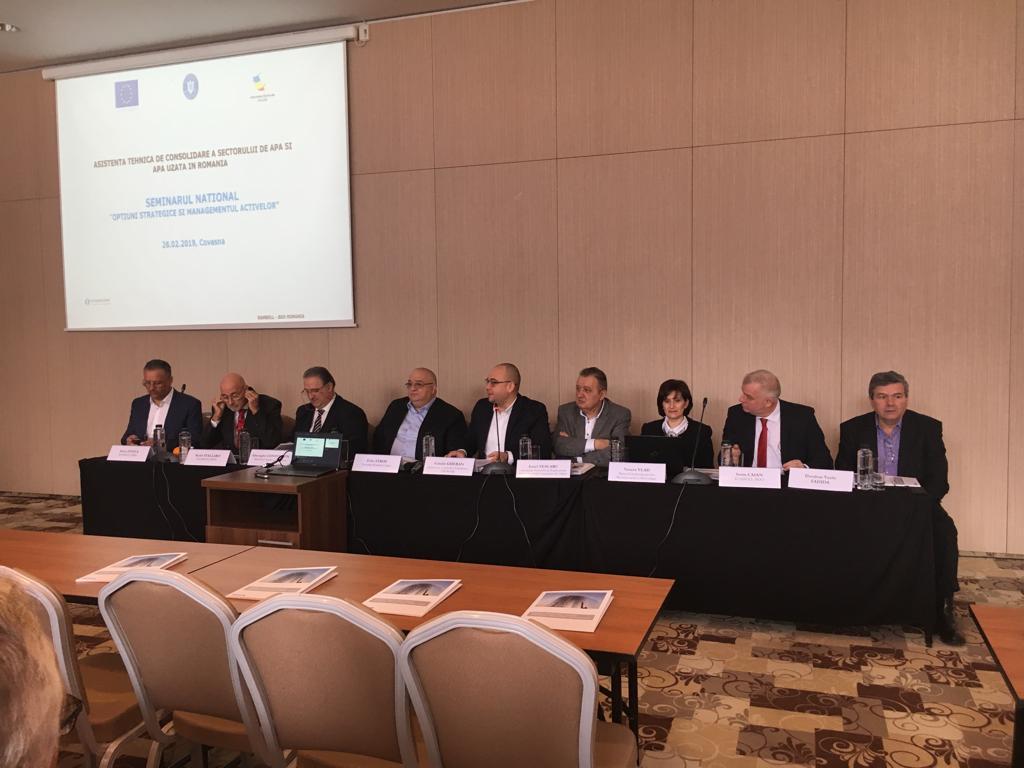 Asistența tehnică pentru consolidarea capacității sectorului de apă și apă uzată în România